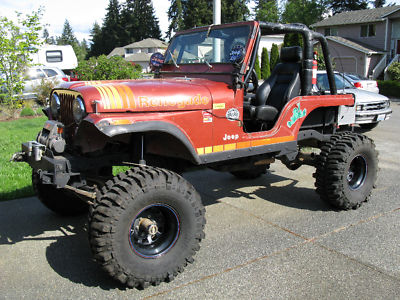 Jeep : Cj Cj5 1980 Cj5 Rock Crawler With Trailer