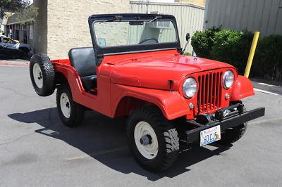 Jeep : Cj Willys Cj5 1960 Willys Jeep Cj5 Frameoff Resto 36k