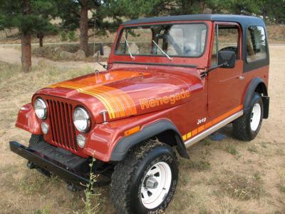 Used Jeep Cj Parts Jeep : Cj Cj Cj7 Cj-7 1979 Jeep Cj7 Renegade Mint 24k Mi 6cyl 1 Owner ...