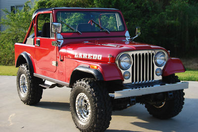 Jeep cj cj 7 laredo 1981 jeep cj 7 laredo mint for sale 0 00
