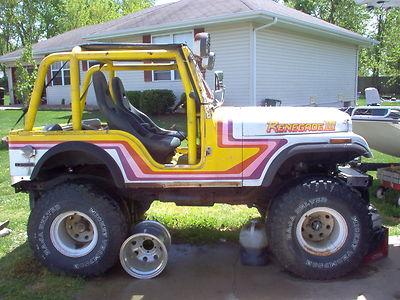 Jeep : Cj Renegade 1979 Cj-5 Fiberglass Body Lifted Jeep, V8 Engine