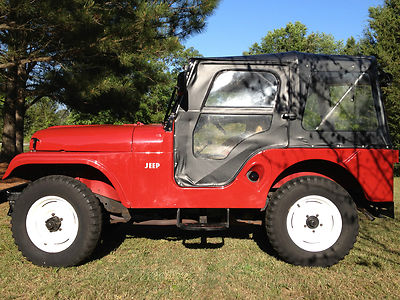 jeep cj cj5 1966 jeep cj5 all original for sale. Black Bedroom Furniture Sets. Home Design Ideas