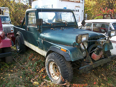 jeep cj scrambler 1983 1985 jeep cj 8 scramblers fiberglass body great project for sale. Black Bedroom Furniture Sets. Home Design Ideas