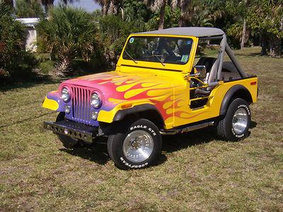 Jeep : Cj Hot Rod 1977 Jeep Cj5 Hot Rod For Sale $0.00