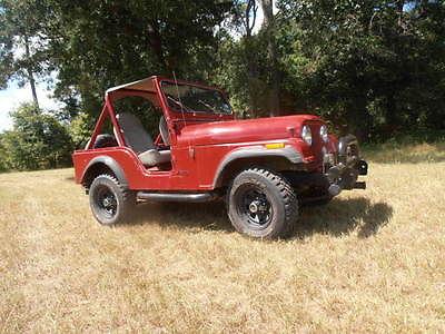 Jeep cj cj5 1981 jeep cj 5 very good condition ps tilt 4 speed full