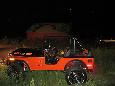 Jeep Cj Cj5 Rare 1975 Cj5 Jeep With Only 9875 Actual