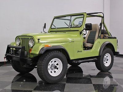 jeep cj 5 frame off restored jeep basically everything new only 1k miles on build nice for. Black Bedroom Furniture Sets. Home Design Ideas