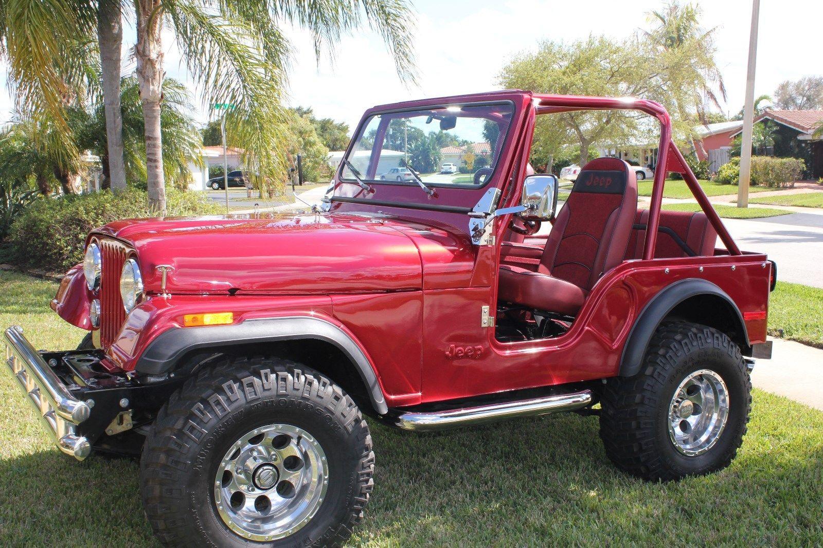 1978 Jeep Cj 1978 Rare Find Cj 5 Jeep Custom Restoration For Sale ...